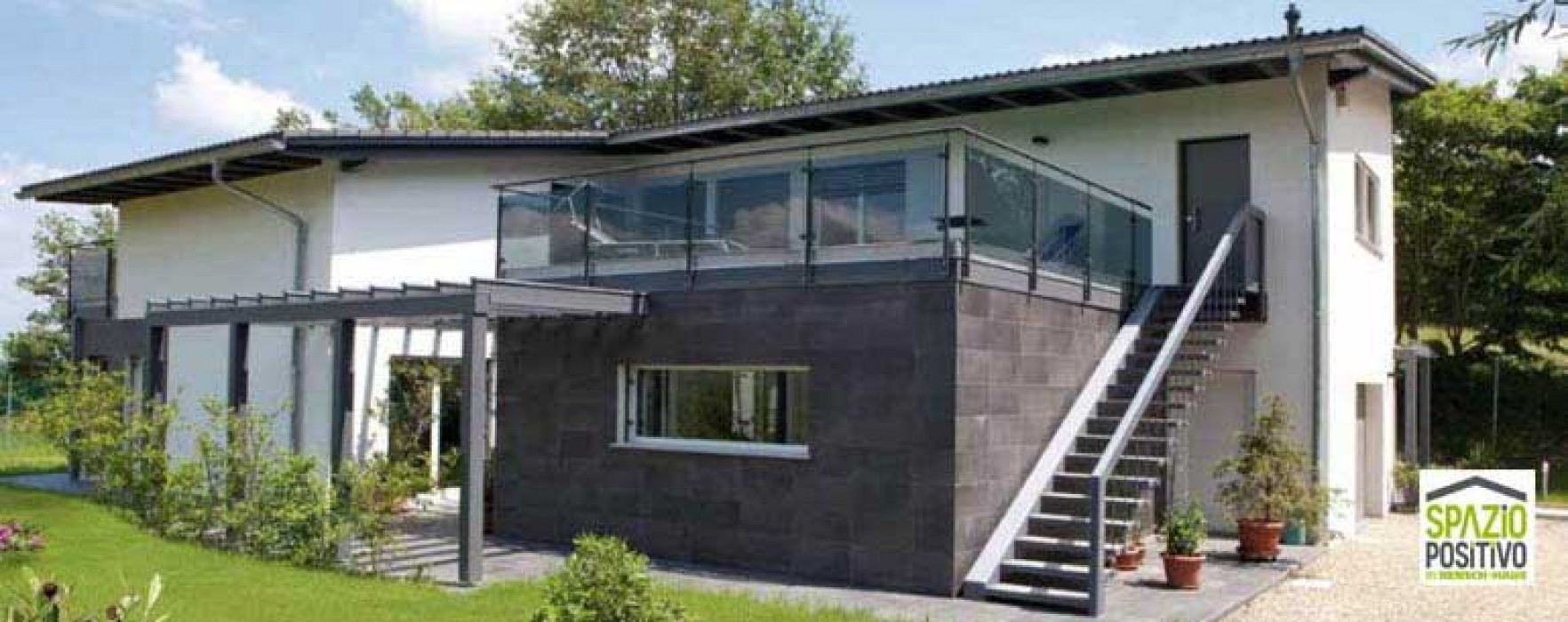 Costruire o ampliare con il prefabbricato tre e pi buoni motivi per scegliere il legno - Ampliare casa con struttura in legno ...