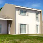 villa legno Bio-house