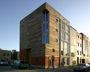 edificio in legno a basso consumo