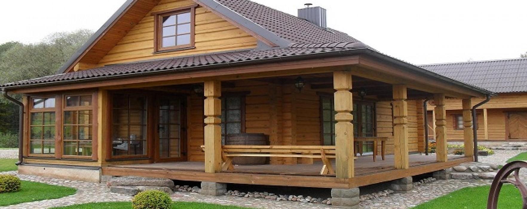 strutture in legno lituane. Black Bedroom Furniture Sets. Home Design Ideas