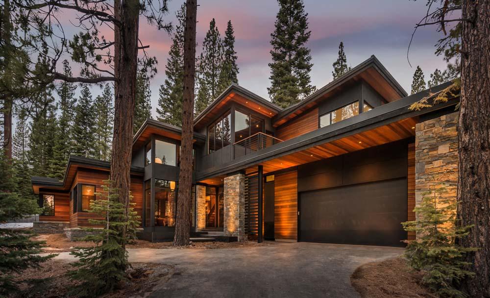 Fibra di legno vs lana di roccia per isolare una casa in for Foto di case in legno