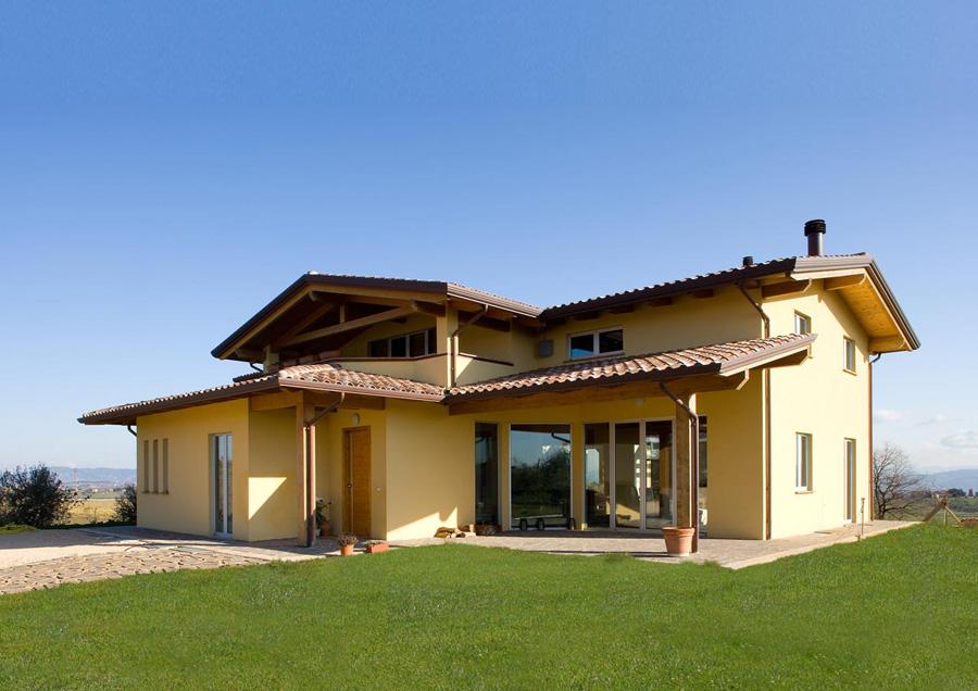 Lacost case in legno umbria for Galimberti case legno