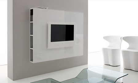 Cartongesso tv fabulous parete cartongesso tv e camino - Porta parete cartongesso ...