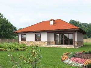 Una casa prefabbricata