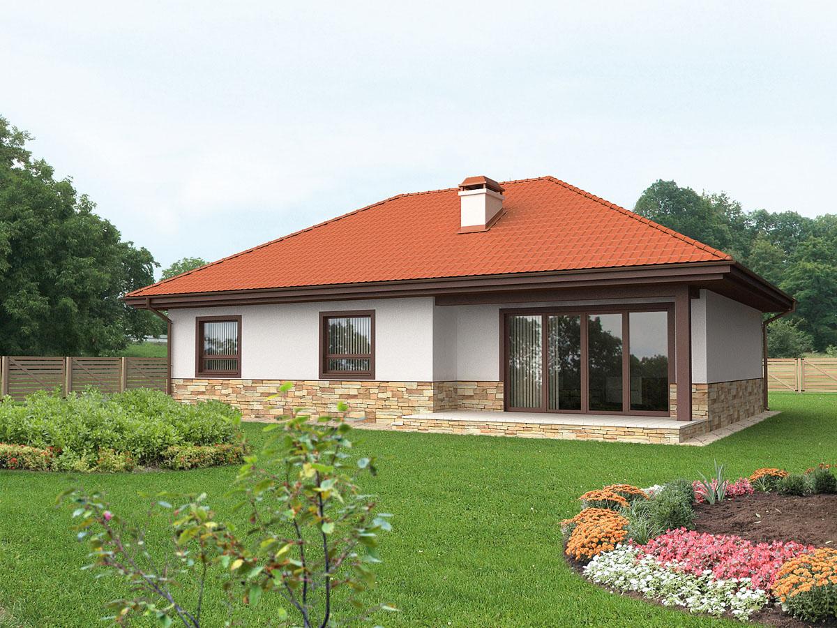 una casa prefabbricata senza riscaldamento