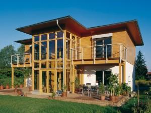 architettura in legno