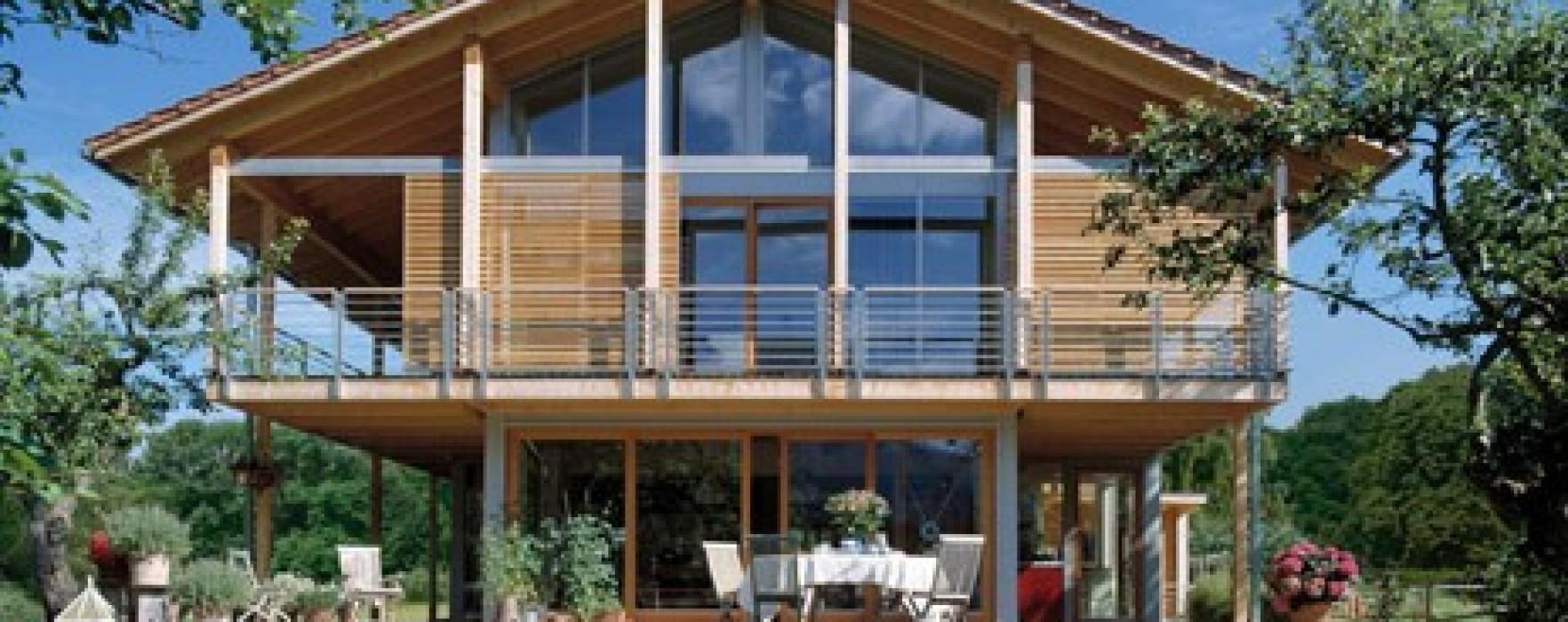 Vano scala e dispersioni in una casa di legno for Durata casa in legno