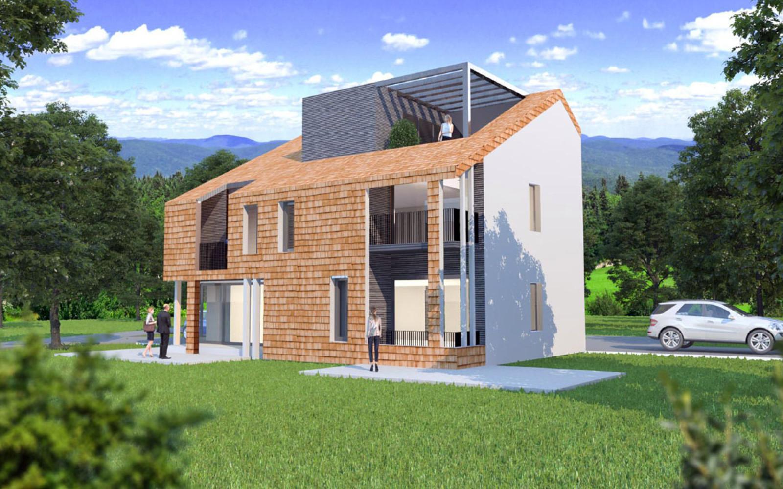 Case prefabbricate in legno ecologiche a basso consumo for Durata casa in legno