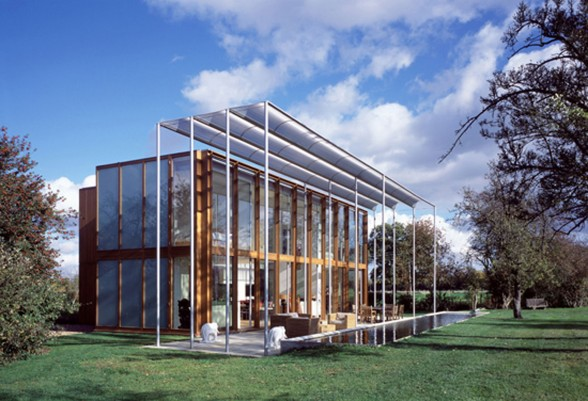 Casa legno acciaio for Case in acciaio e legno