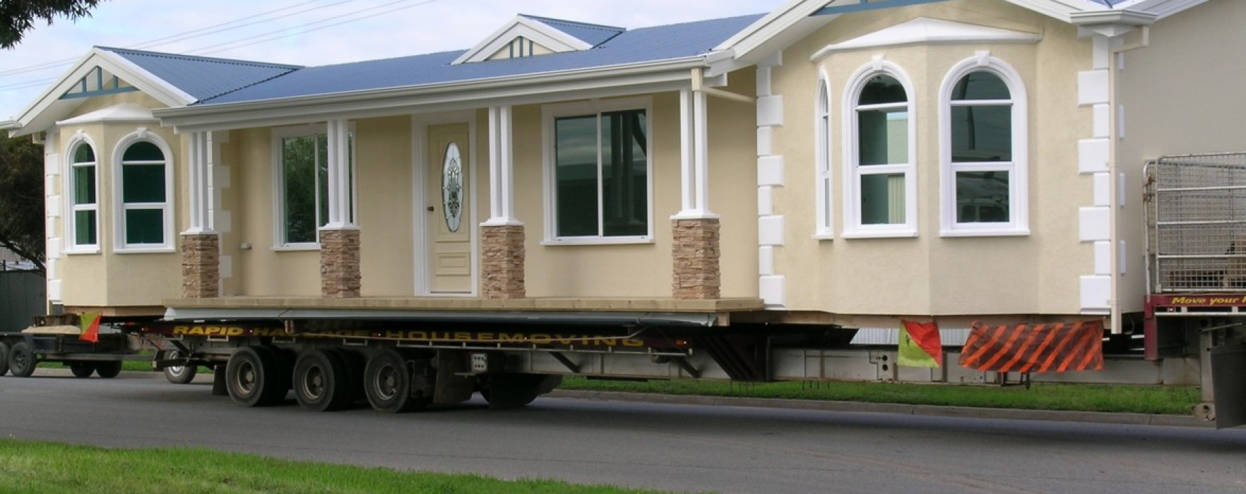 Case prefabbricate in legno senza ruote for Casa mobile