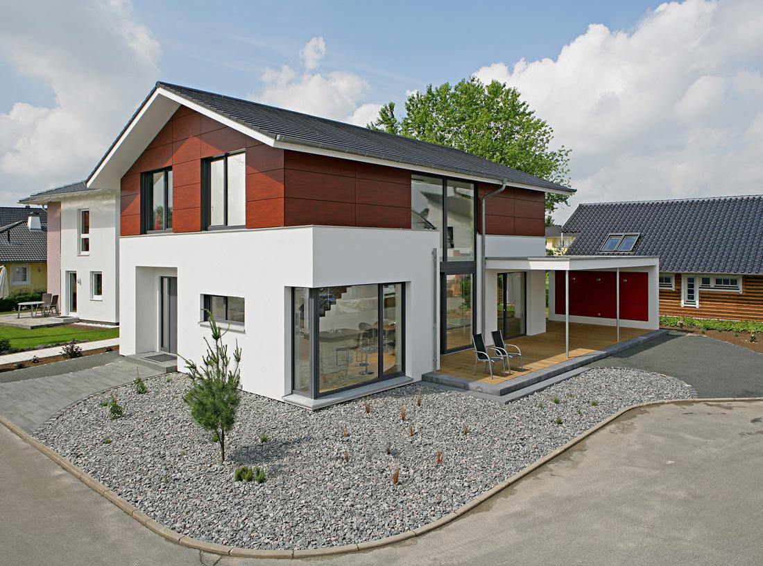 Una casa prefabbricata a catalogo al grezzo in friuli for Catalogo case