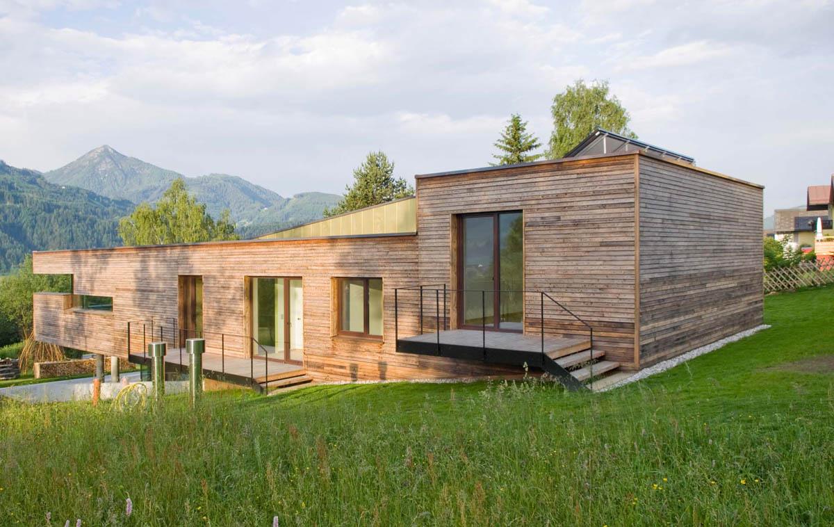 case ecologiche rubner case in legno case case in legno massiccio progettate rubner with case. Black Bedroom Furniture Sets. Home Design Ideas