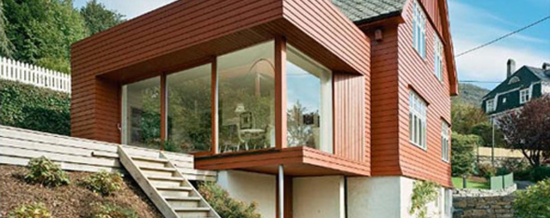 Una casa prefabbricata in legno economica - Costruire una casa economica ...