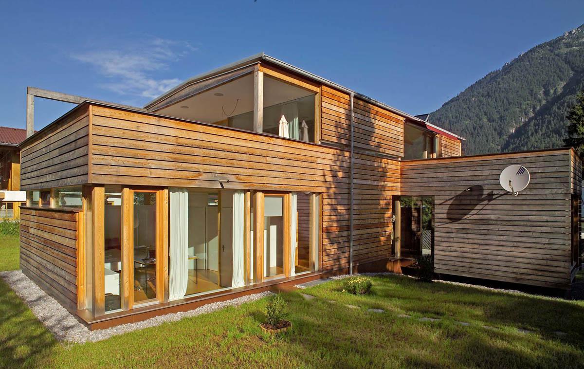 sogno o progetto di una casa di legno