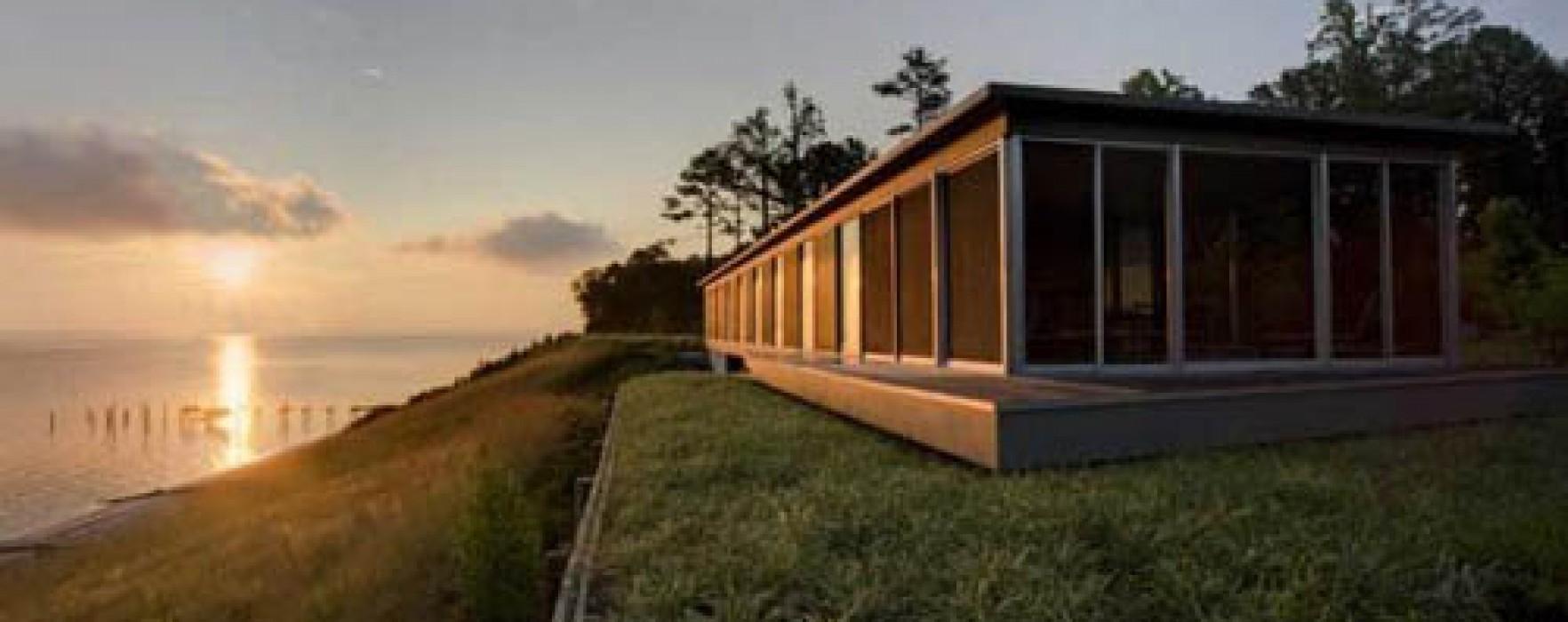 Case prefabbricate autosufficienti for Case in legno senza fondamenta