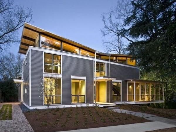 Case in legno e acciaio for Home design el salvador