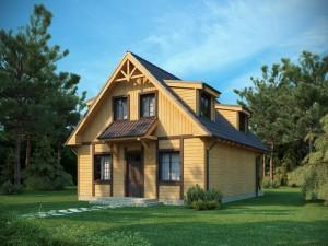 edifici di legno