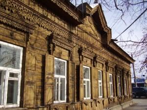 edificio di legno