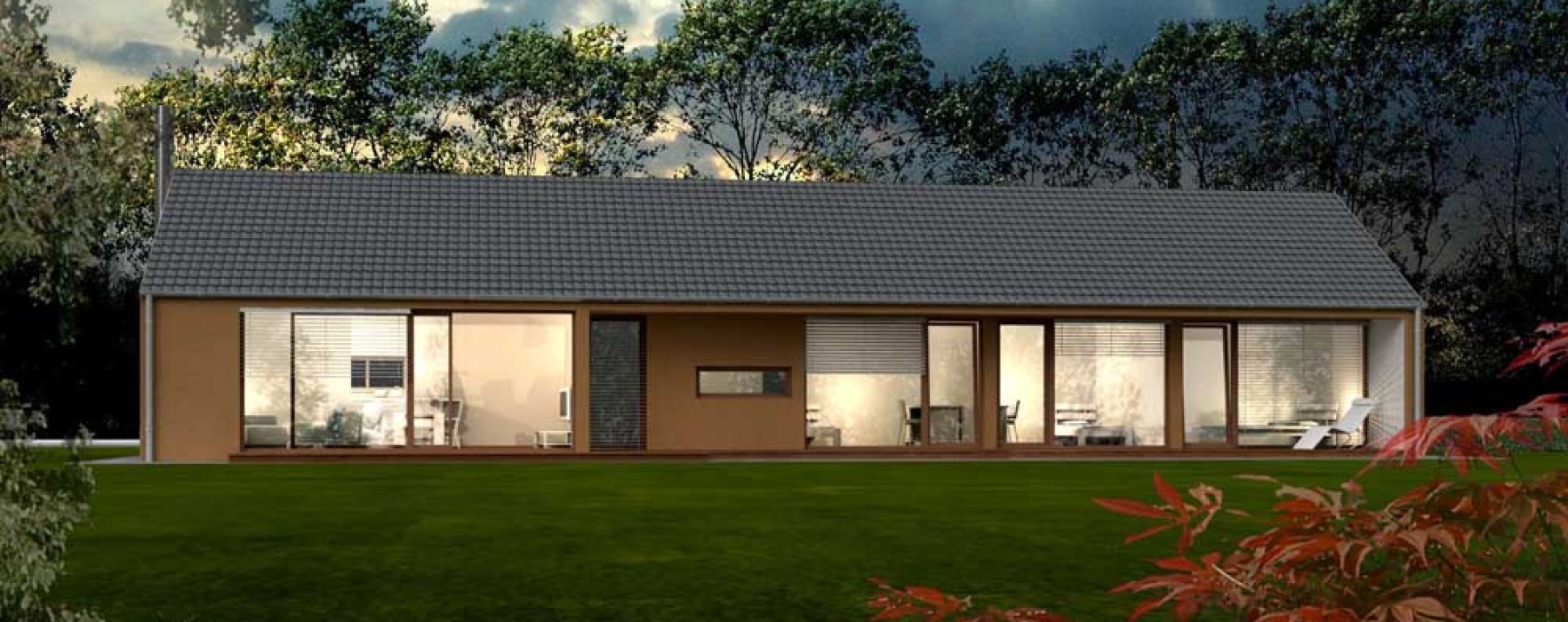Prezzi indicativi per due case prefabbricate - Casa in legno prezzi ...