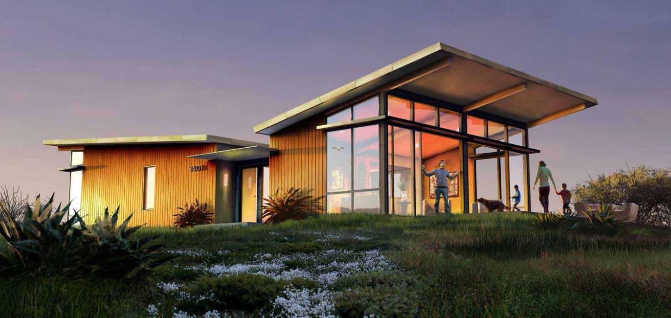 Legno e pietra per le case prefabbricate for Permessi per case in legno