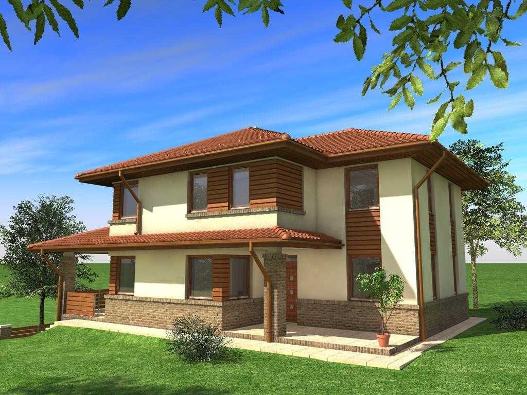 Una piccola costruzione in romania for Case in legno romania