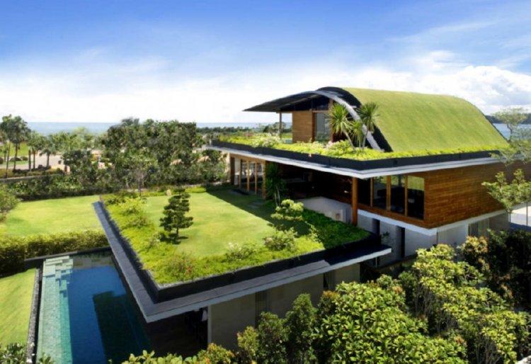 Popolare Tetti verdi e case in legno | caseprefabbricateinlegno.it ER76