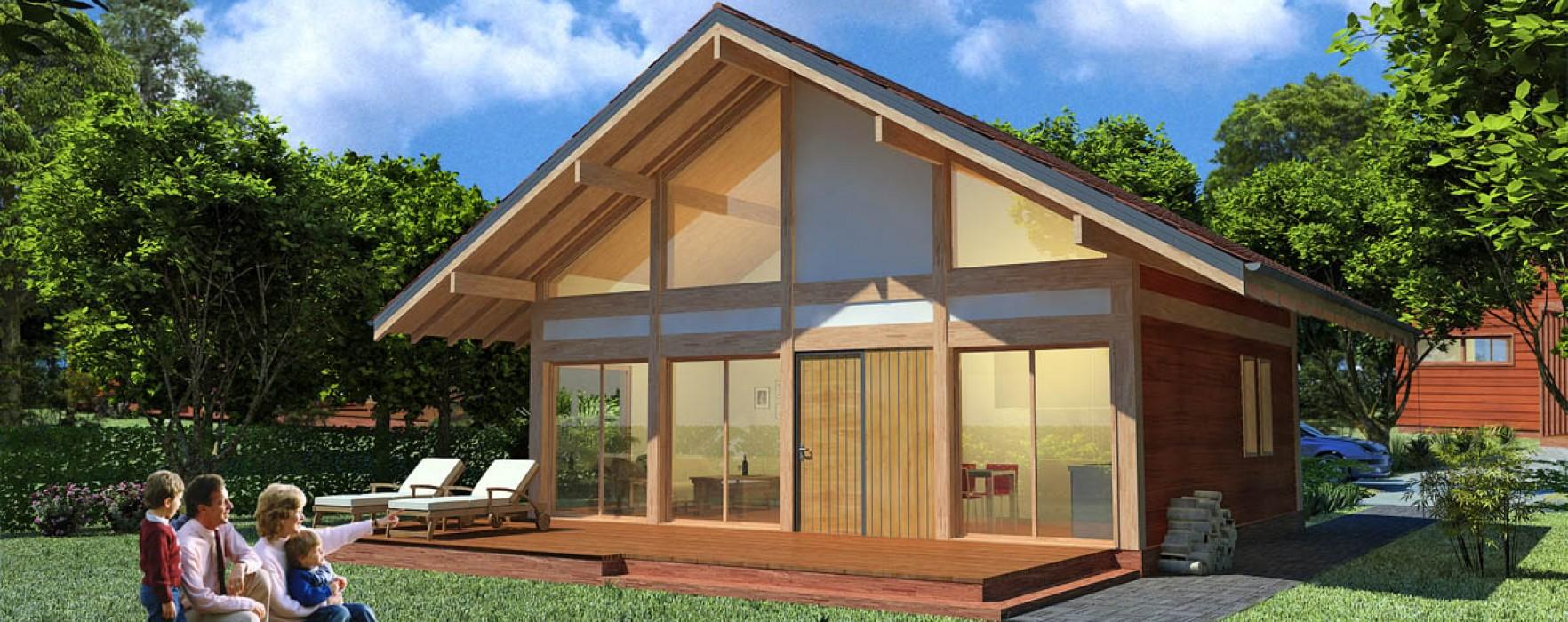 Furti e case prefabbricate for Casa in legno prefabbricata