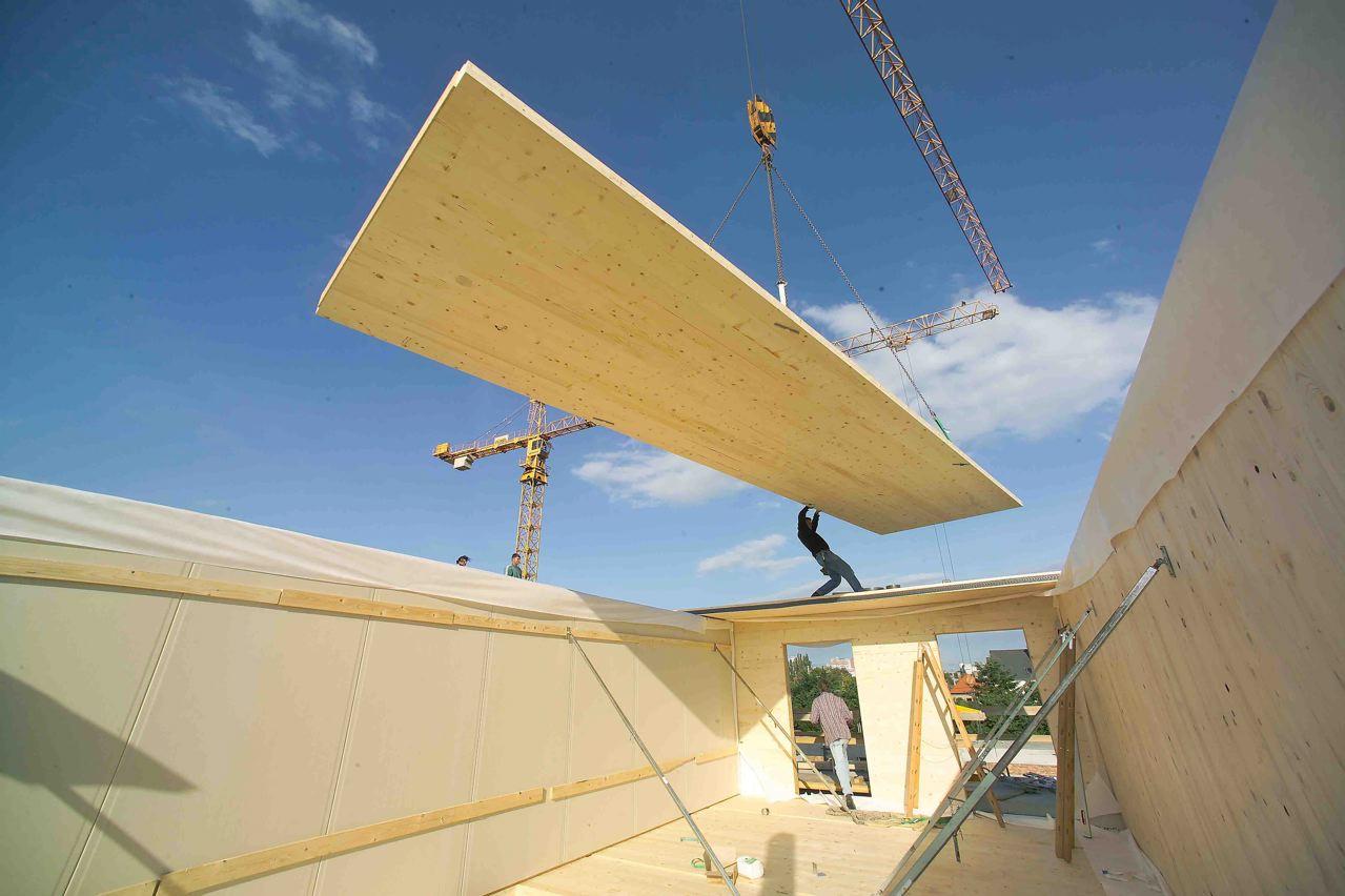 Xlam le case prefabbricate massicce for Case legno xlam