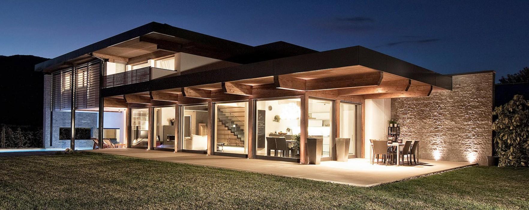 Case prefabbricate a struttura struttura mista for Modelli di case moderne