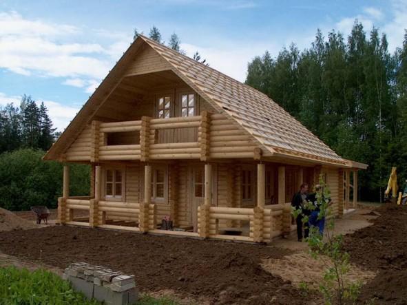 Vapore nelle case in legno blockhaus for Durata case in legno
