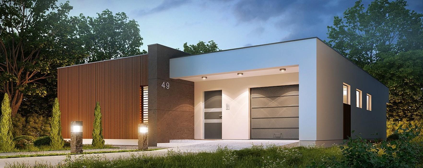 Edifici in legno x lam e tetti piani for Piani di appartamento garage a buon mercato