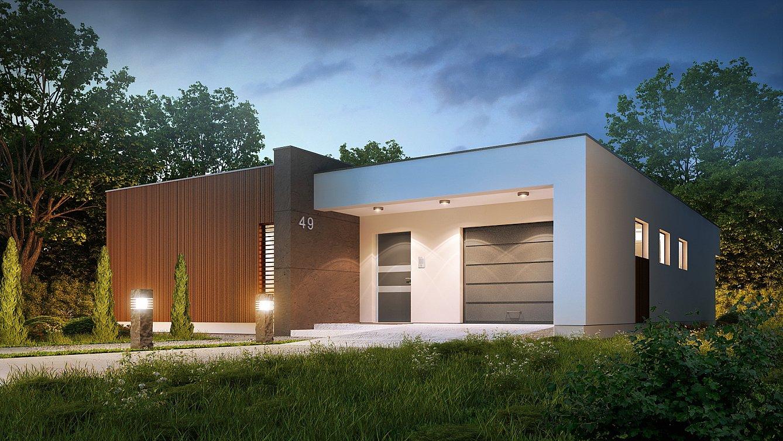 Edifici in legno x lam e tetti piani for Durata casa in legno