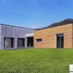 Casa Moderna Prefabbricata in Legno Villebio