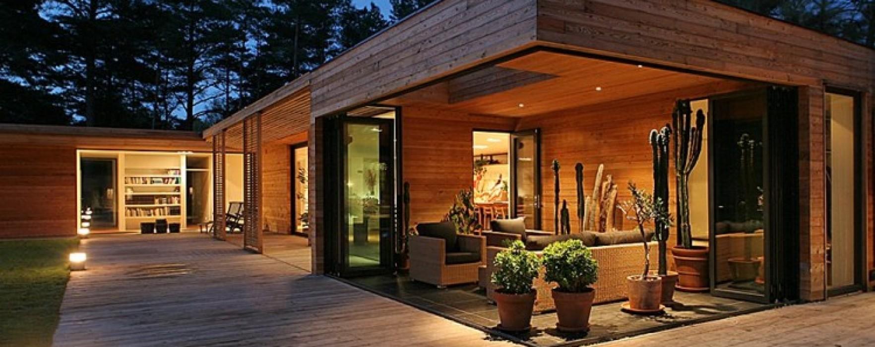 Struttura e riscaldamento di una casa in legno for Durata case in legno