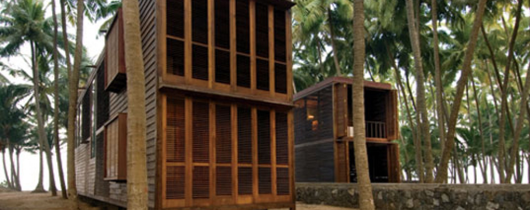 Case in legno senza riscaldamento for Case in legno senza fondamenta
