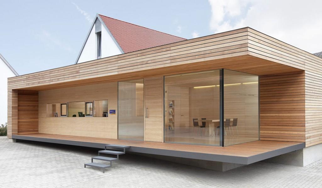 Una casa prefabbricata in svizzera - Casa prefabbricata moderna ...