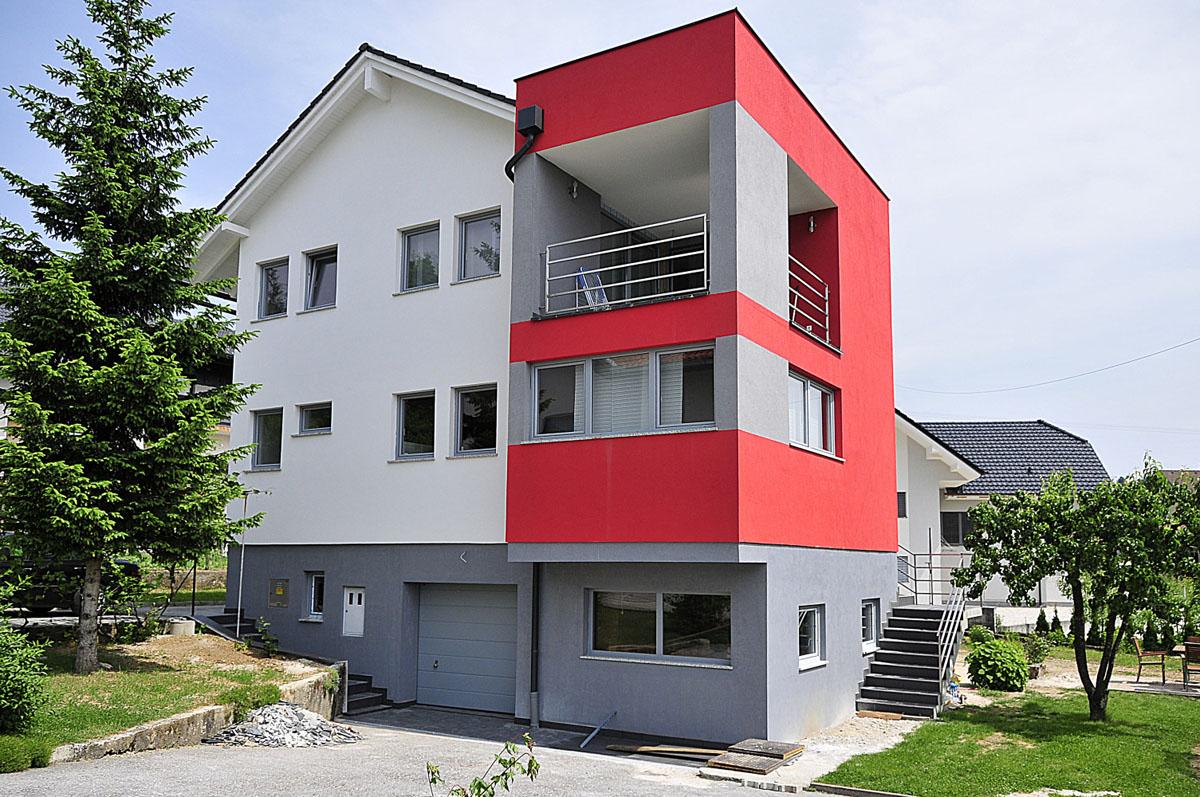 Progettazione Casa In Legno : Una casa in legno a progetto su un seminterrato