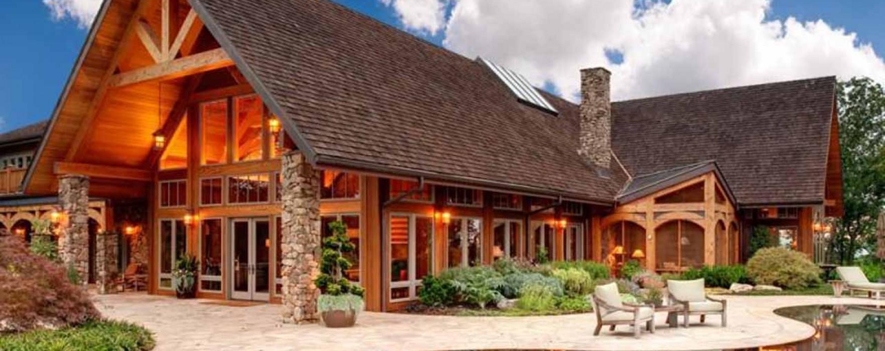 Scaldare le case in legno blockhaus for Durata case in legno