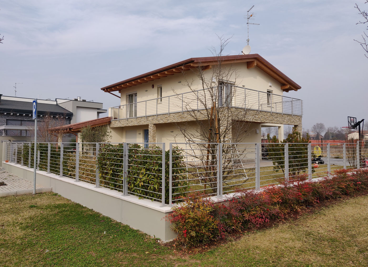 Colori Per Facciate Case rivestimenti di facciata sulle case in bioedilizia