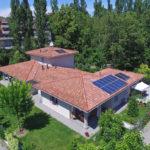 Vibrobloc Splendida Villa Prefabbricata in Legno con Fotovoltaico - Esterno