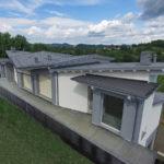 Vibrobloc Casa In Legno in Stile Moderno
