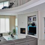 Vibrobloc: Dettagli di interni di design di una casa prefabbricata moderna